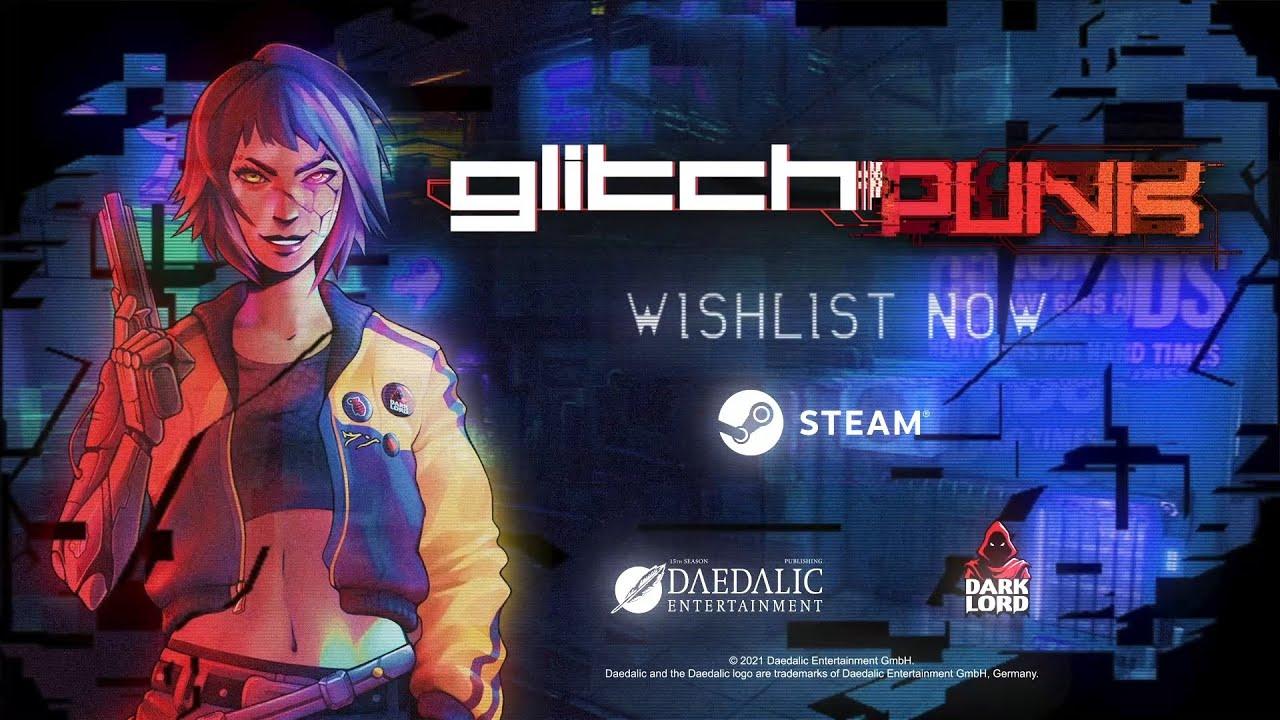 Анонс Glitchpunk — смеси киберпанка и GTA 2
