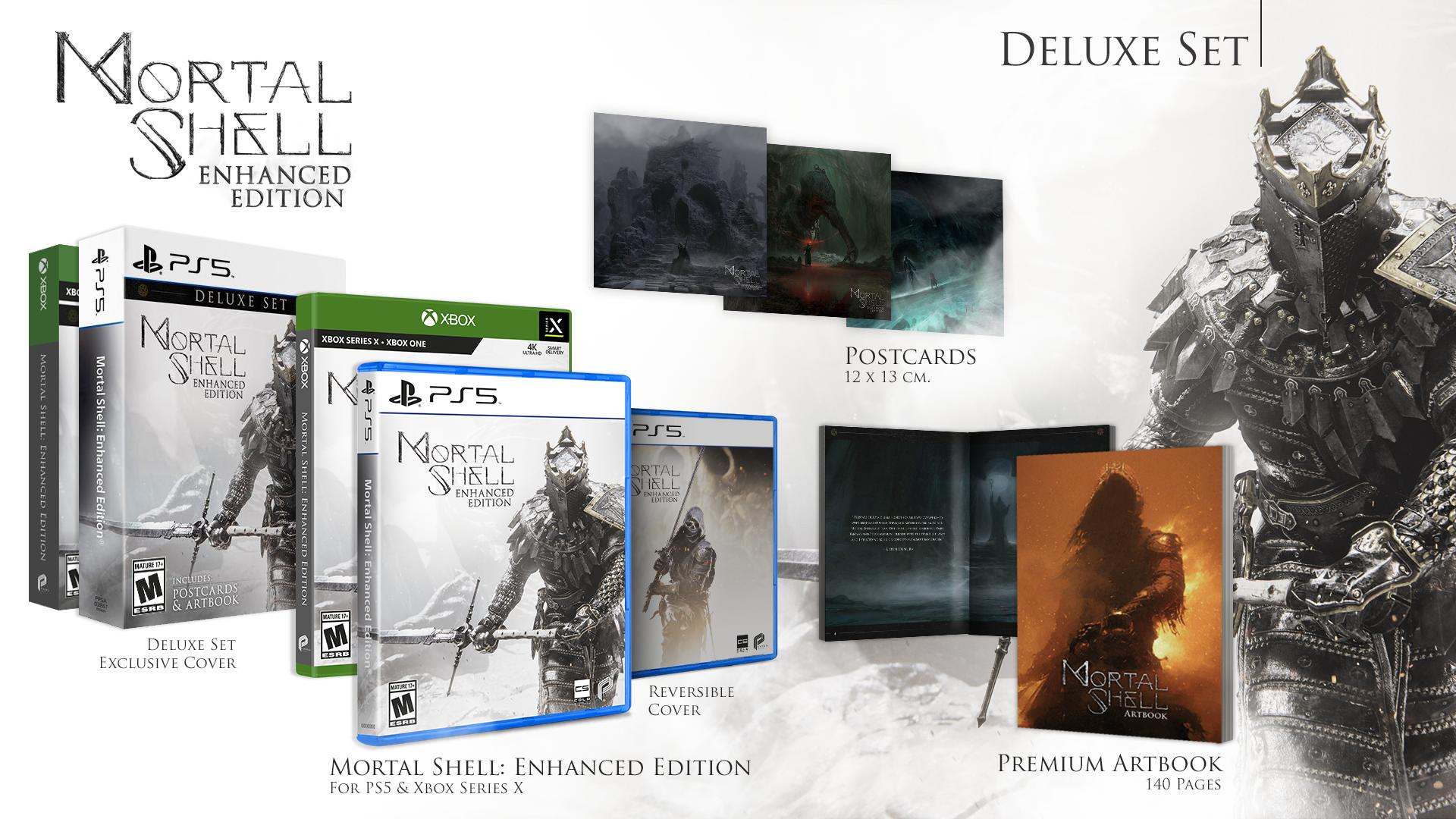 Продажи Mortal Shell превысили 500 000 копий по всему миру. Enhanced Edition уже доступно!