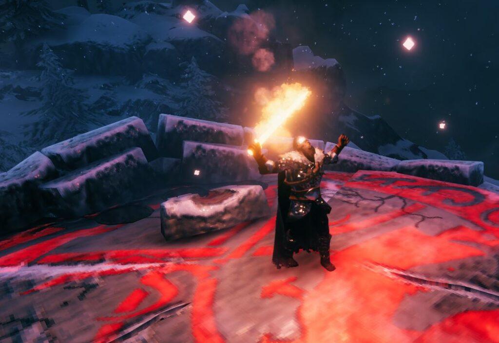 Гайд Valheim — как получить лучший огненный меч в игре