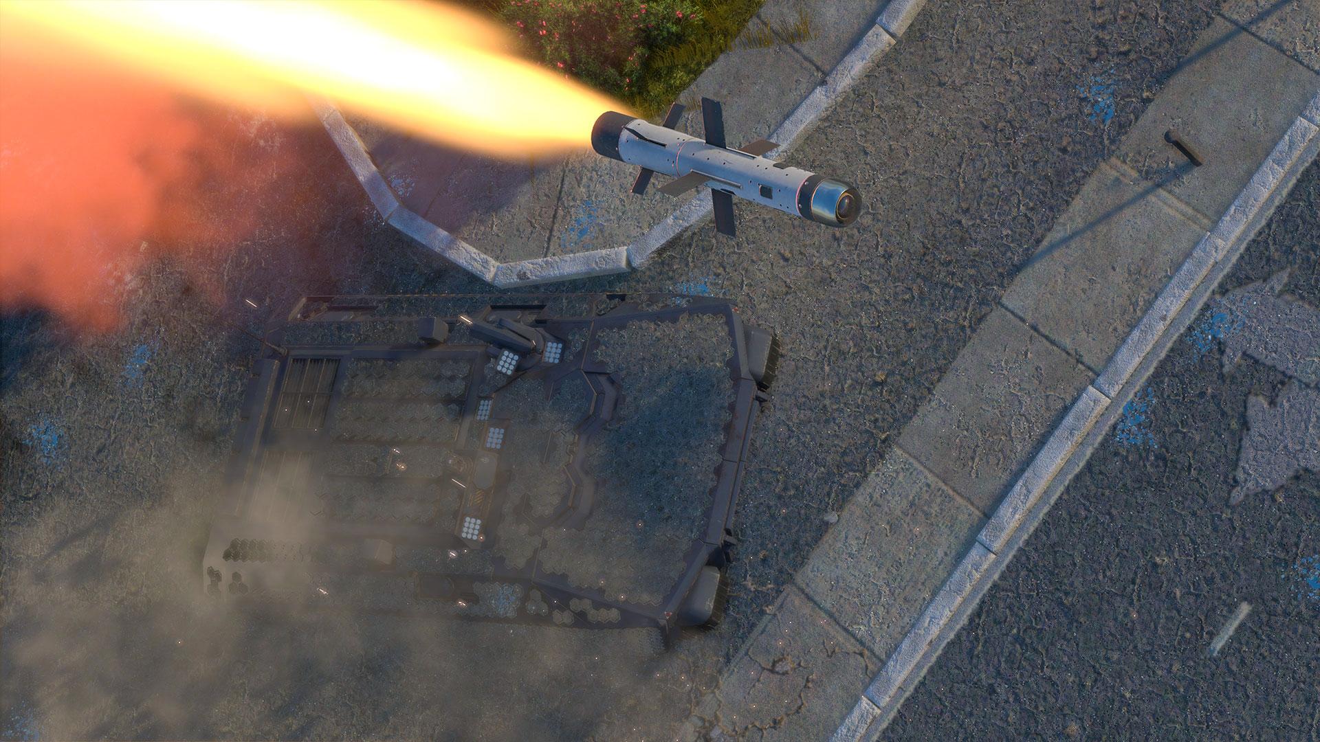 """Первые детали виртуальной среды """"Война-2077"""" для War Thunder"""