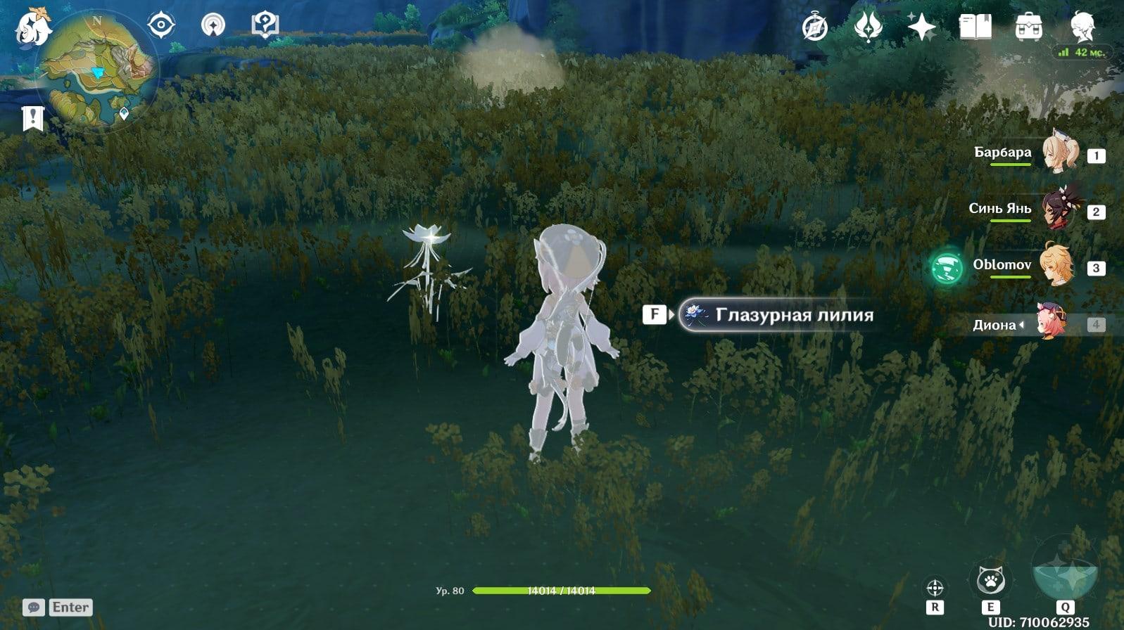 Рассказываем, где найти и как лучше фармить глазурную лилию в Genshin Impact