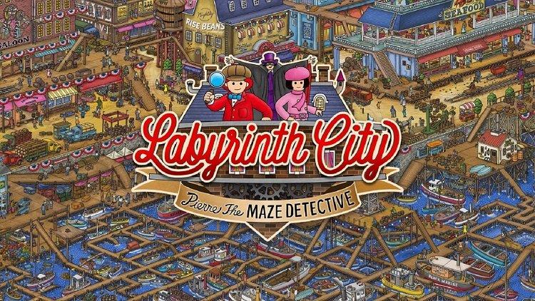 Прохождение Labyrinth City Pierre the Maze Detective