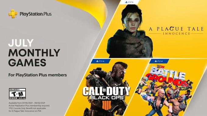 Бесплатные игры PS Plus июль 2021