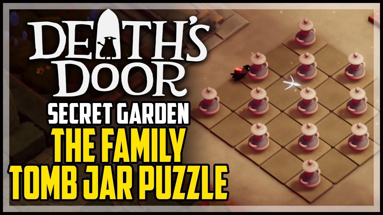 Death's Door: как решить загадку с кувшинами в саду Керамической ведьмы